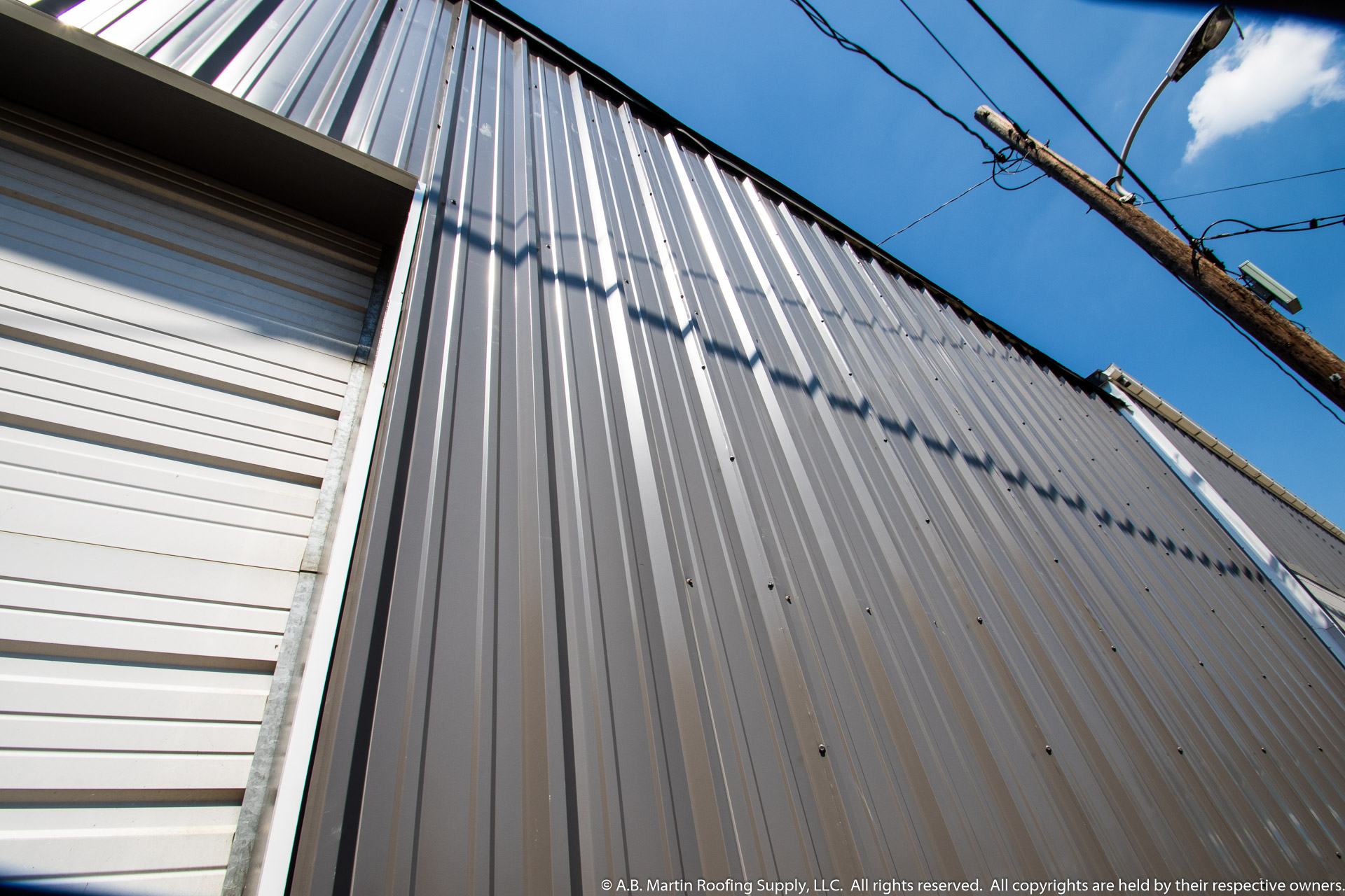Steel Building Panels : Pbr panel building materials from a b martin roofing supply