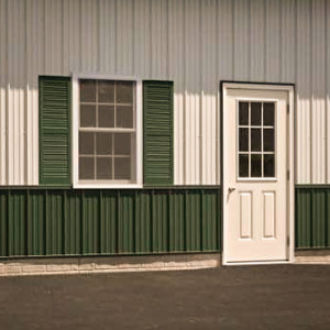 Door, Window, and Shutters