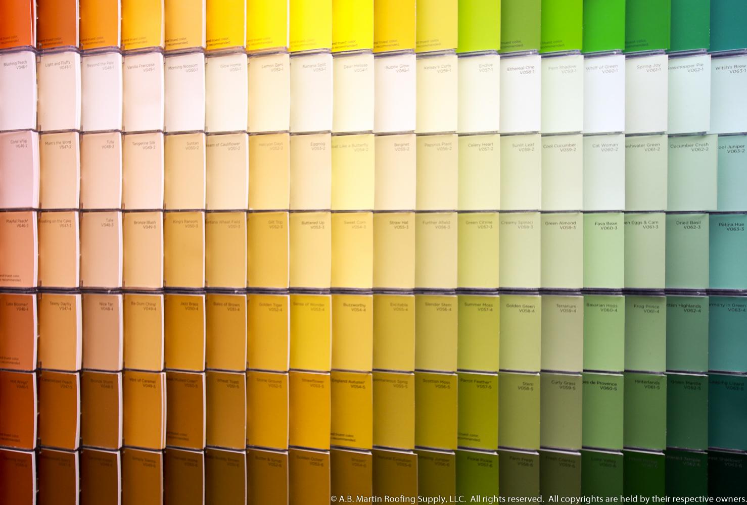July valspar paint rebate a b martin roofing supply for Valspar color visualizer