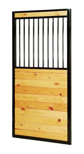 Door with grill