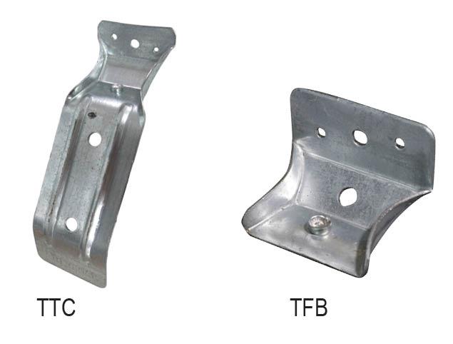 Aluminum Bracket Clamp for Narrow Frame Door Electric Bolt Lock