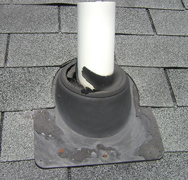 Failed Roof Boot