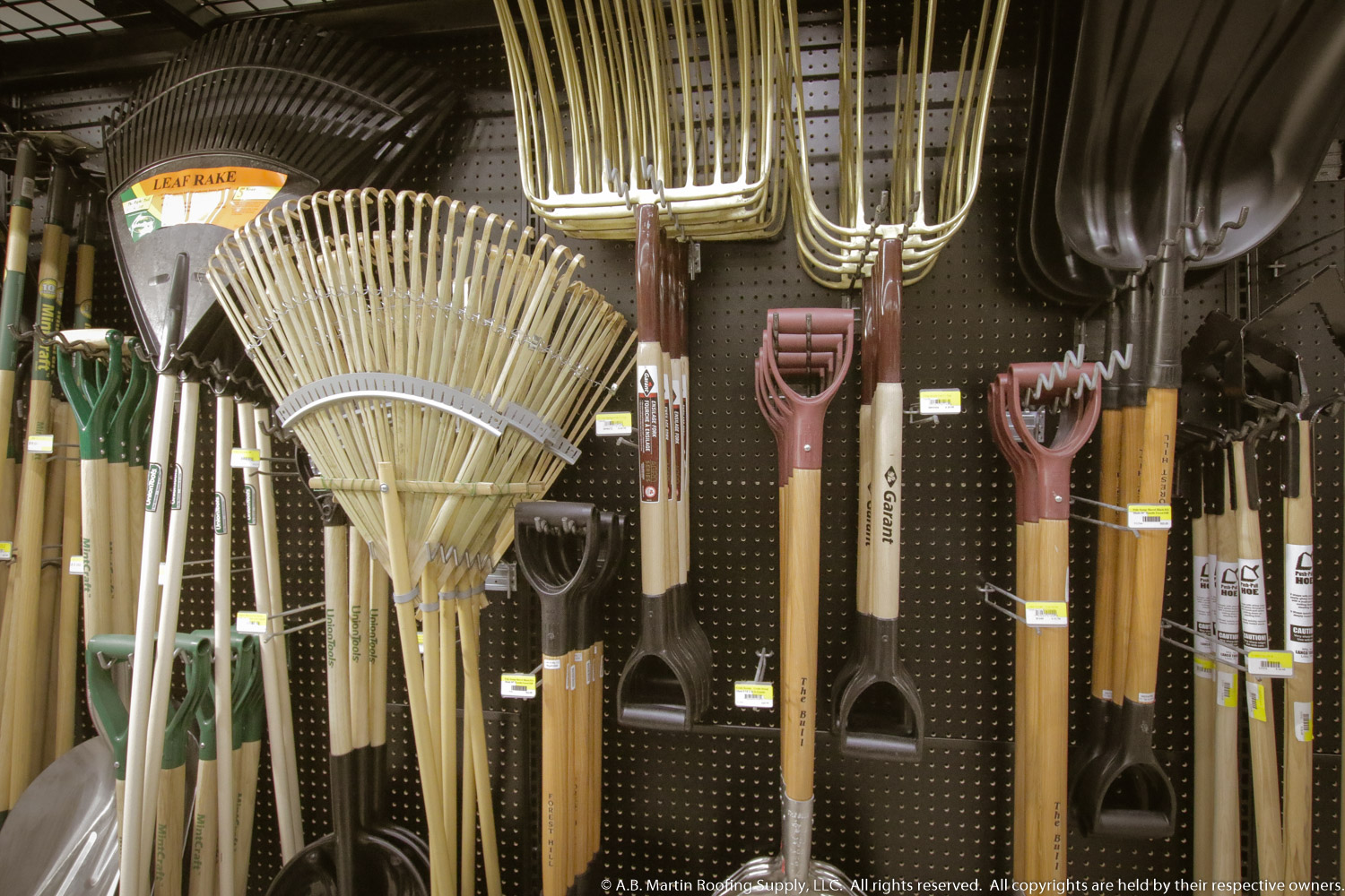 Lawn And Garden Hardware Supplies At A B Martin