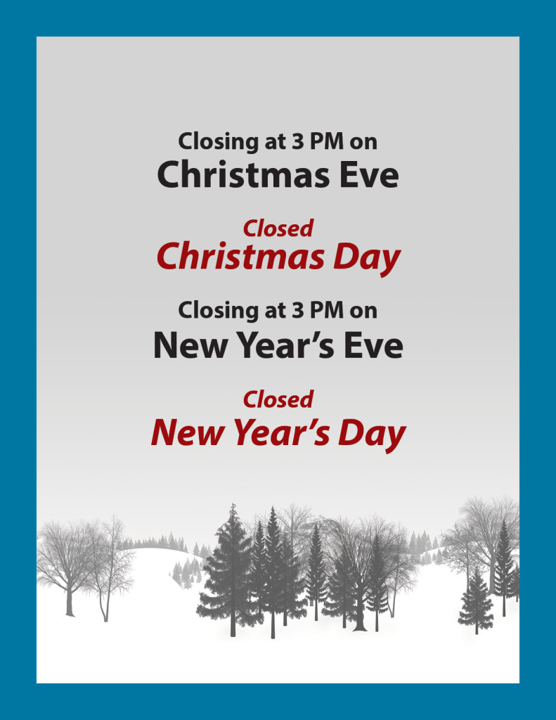 A.B. Martin's Holiday Hours and Closures