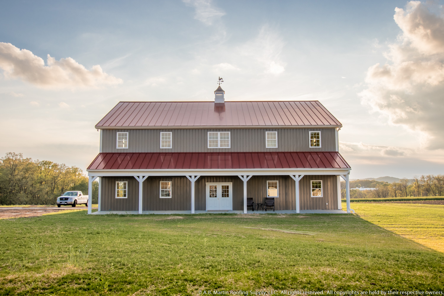 2 Story Barn With Standing Seam Roof