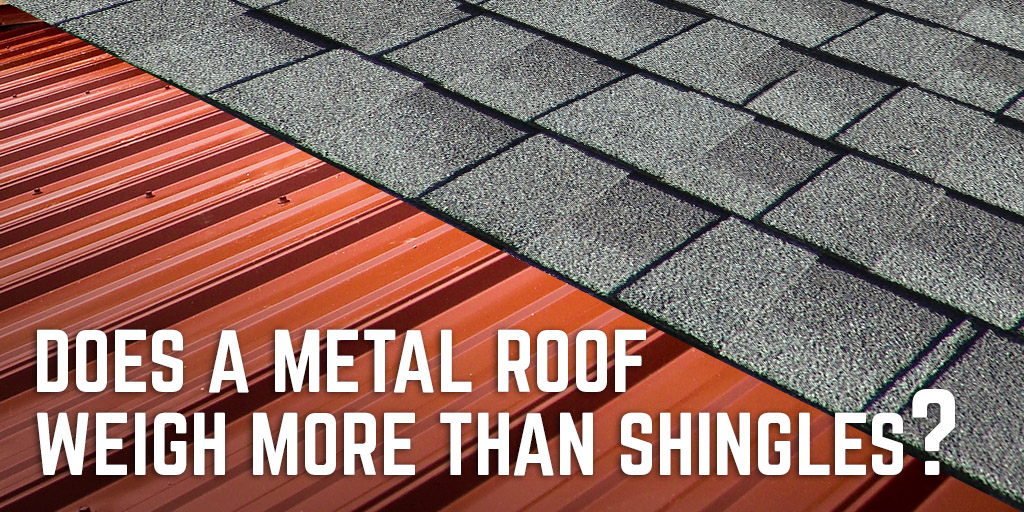 Infographic Is A Metal Roof Heavier Than Shingles A B Martin Roofing Supply