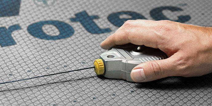 Tyvek Protec - Easy to Chalk