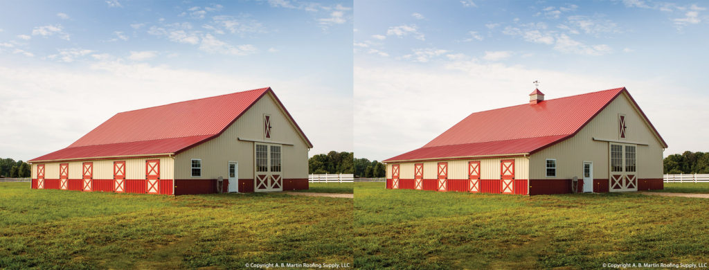 With and Without Cupola