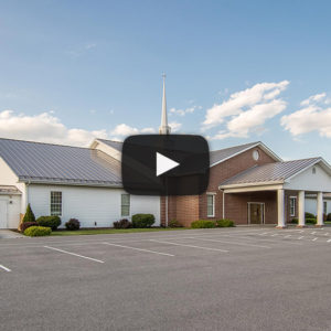 Building Showcase: Church with Slate Gray Metal Roof