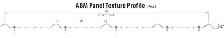 Texture ABM Panel Profile