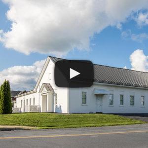 Building Showcase: Denver, PA Church with Black Standing Seam