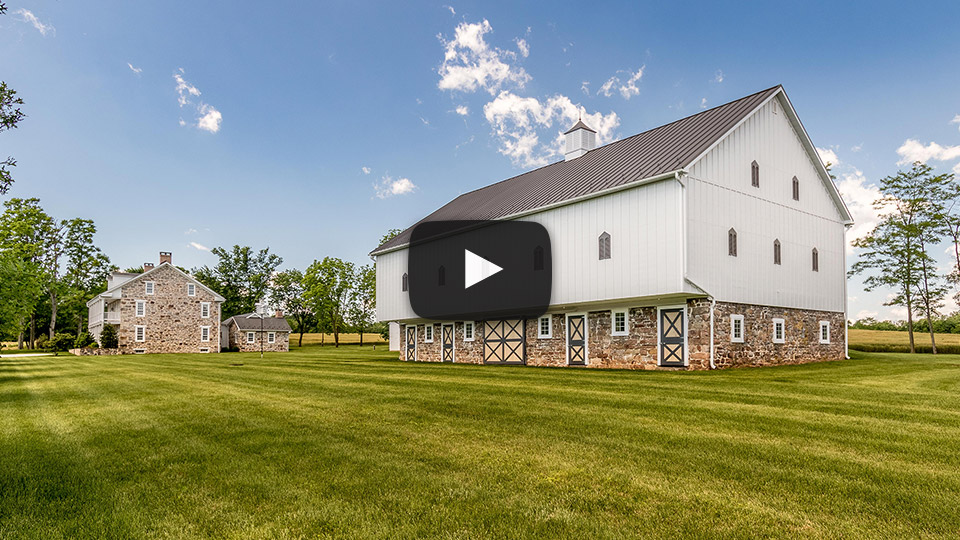 1800's Historical Barn with Textured Standing Seam
