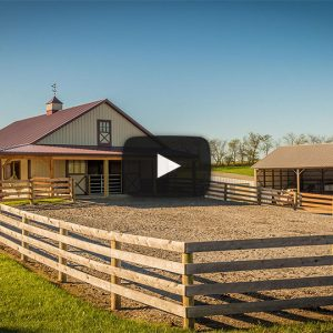 [Video] Showcase Horse Barn in Shippensburg, PA