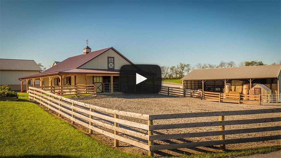 [Video] Showcase Horse Barn in Shippensburg, PA