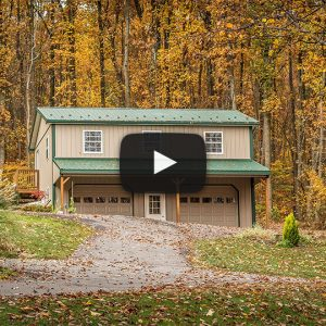 When a Former Builder Builds a 2-story Garage in the Woods | The Building Showcase