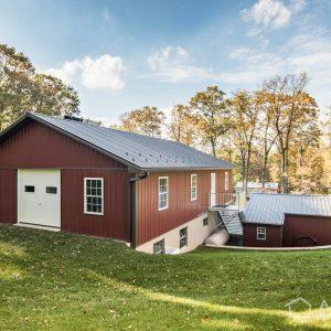 2-story Amish Garage