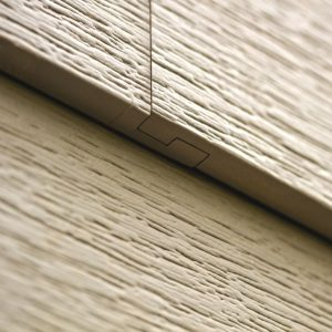 Celcet Siding Interlocking Panel Design Closeup