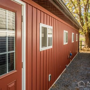 Carriage Red Celect Siding