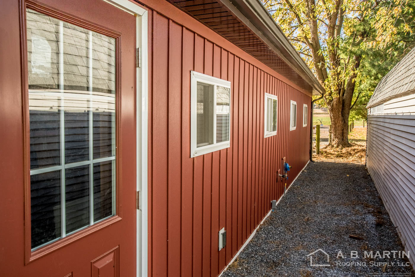 Video Stunning Garage With Carriage Red Celect Siding