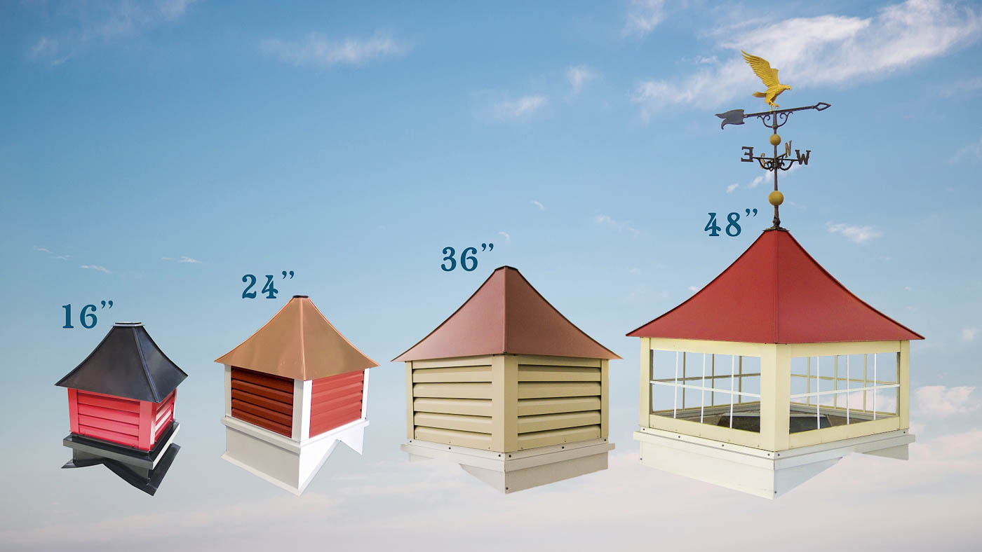 Different Size Cupolas