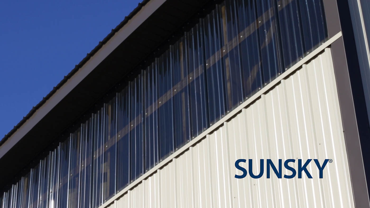 Sunsky Polycarbonite Skylight Panels