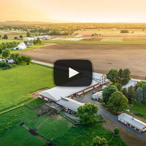[Drone Video] Strock Horse Farm – Building Showcase