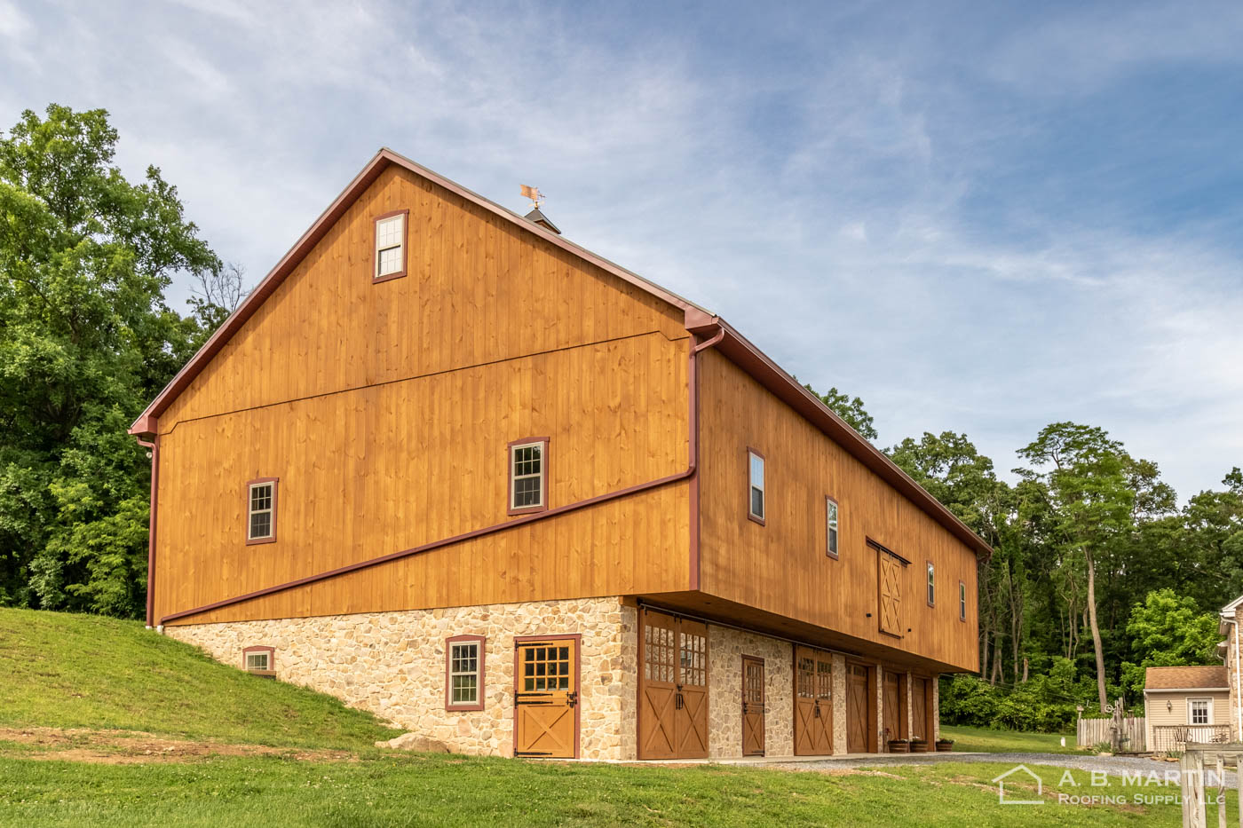 Brand New Bank Barn In New Holland Pa Building Showcase