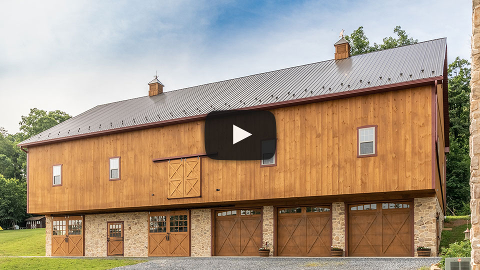 Brand New Bank Barn in New Holland, PA – Building Showcase
