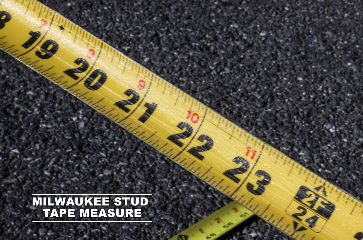 Milwaukee Tape Measure Scratch Resistant