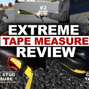 Extreme Review of the New Milwaukee Stud Tape Measure