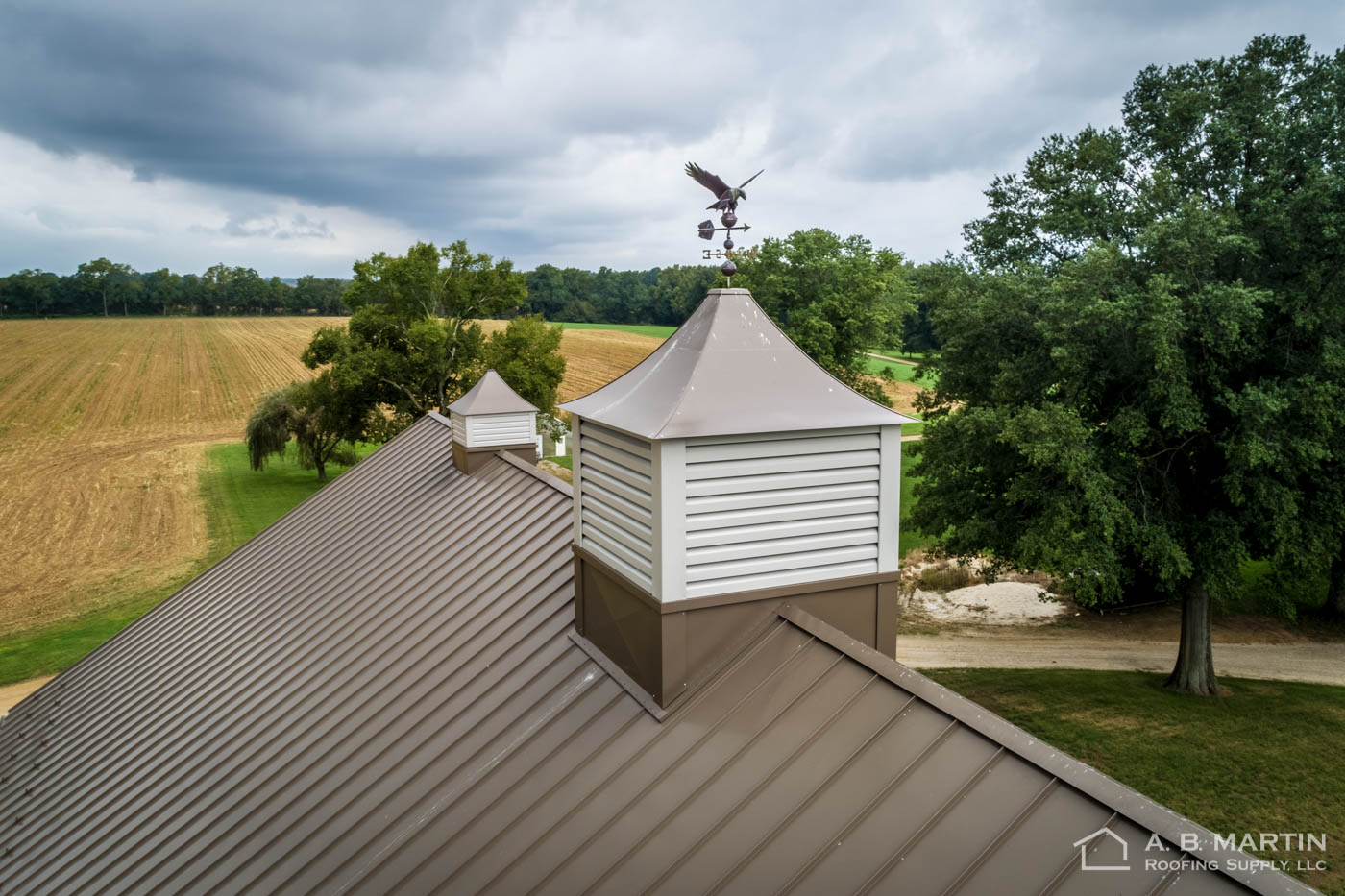 8 Ft Cupola On Maryland Bank Barn A B Martin Roofing