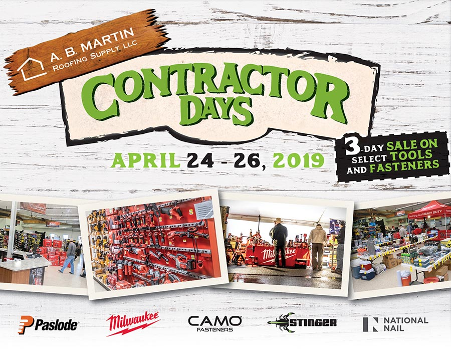 2019 Contractor Days