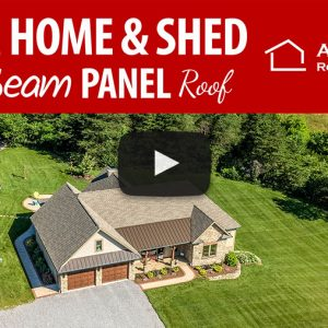 Custom Home and Country Shed in Newville, PA